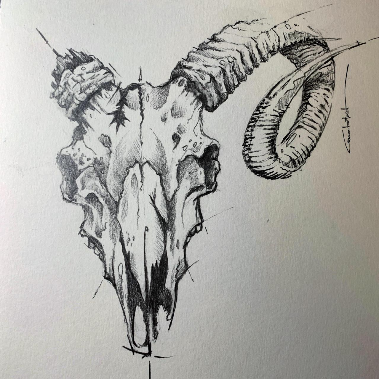 """""""decay"""", pencil art"""
