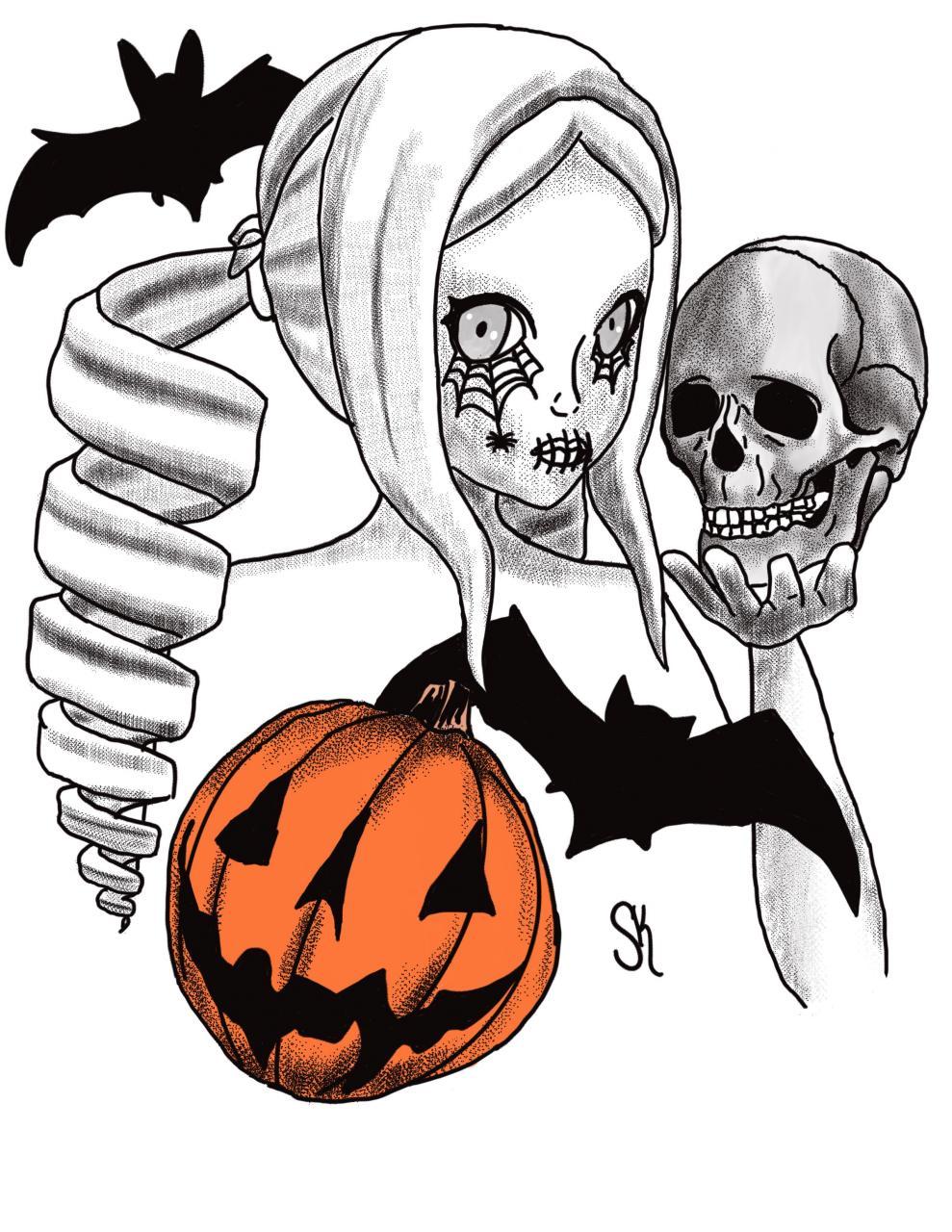Halloween Tattoo Concept!
