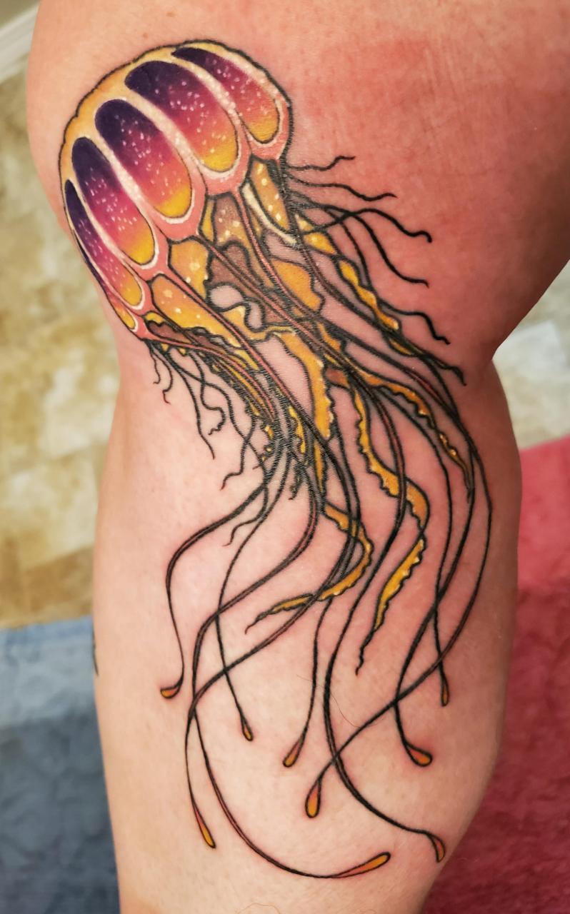 Fresh addition to the sea leg. Artist Chris Standley, Twin Falls, Idaho
