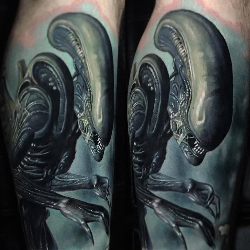 Alien Tattoos: – All Things Tattoo: Artists credited within