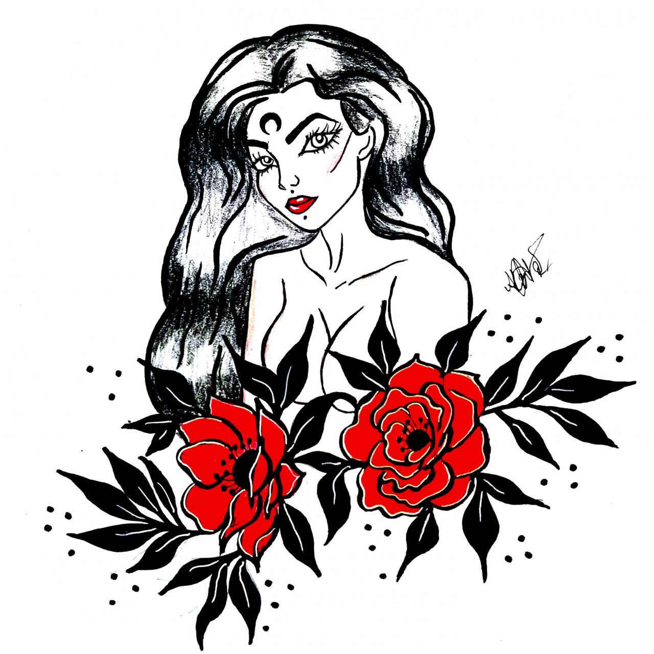 Tattoo design(: