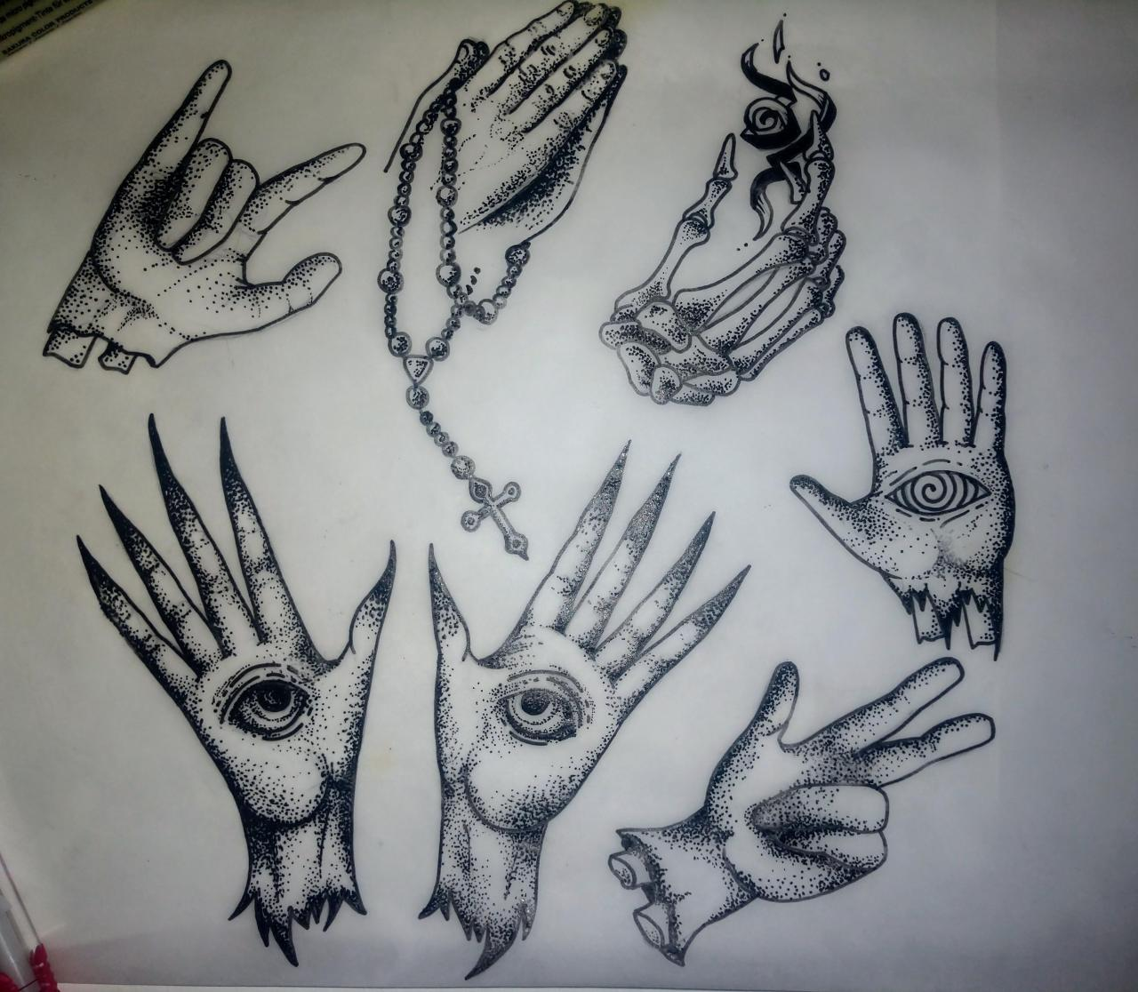 Aspiring tattoo artist building a portfolio. Any criticism welcome