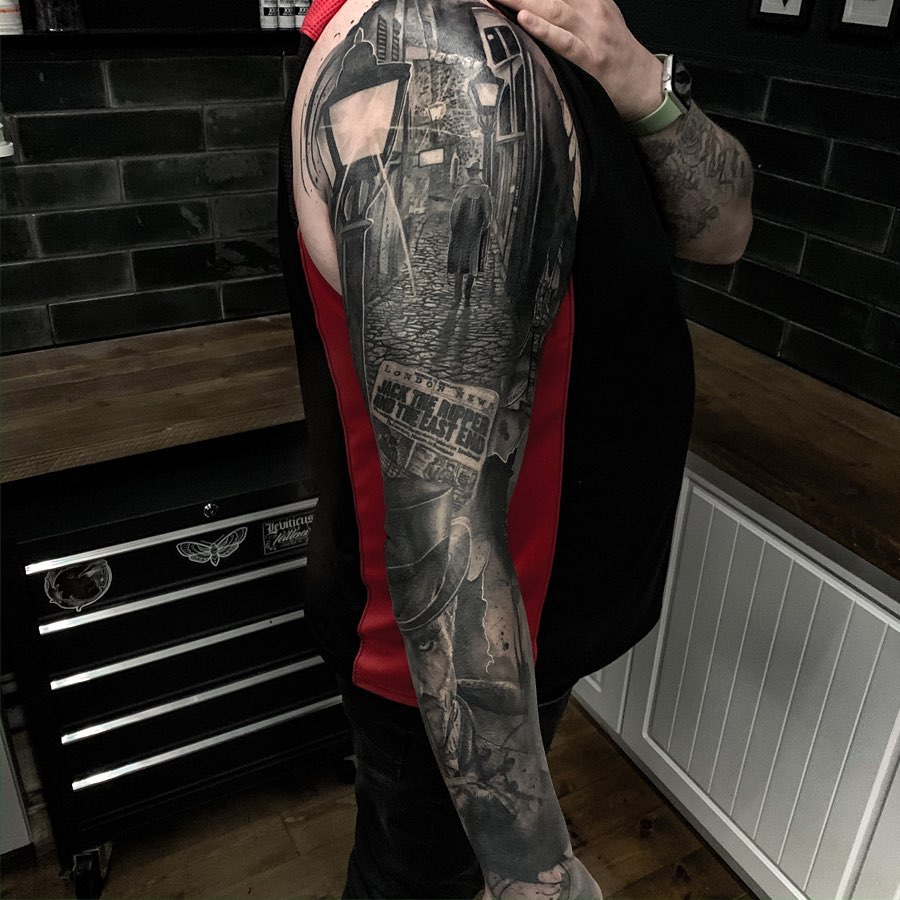 Jack the Ripper Tattoos: Artists credited within