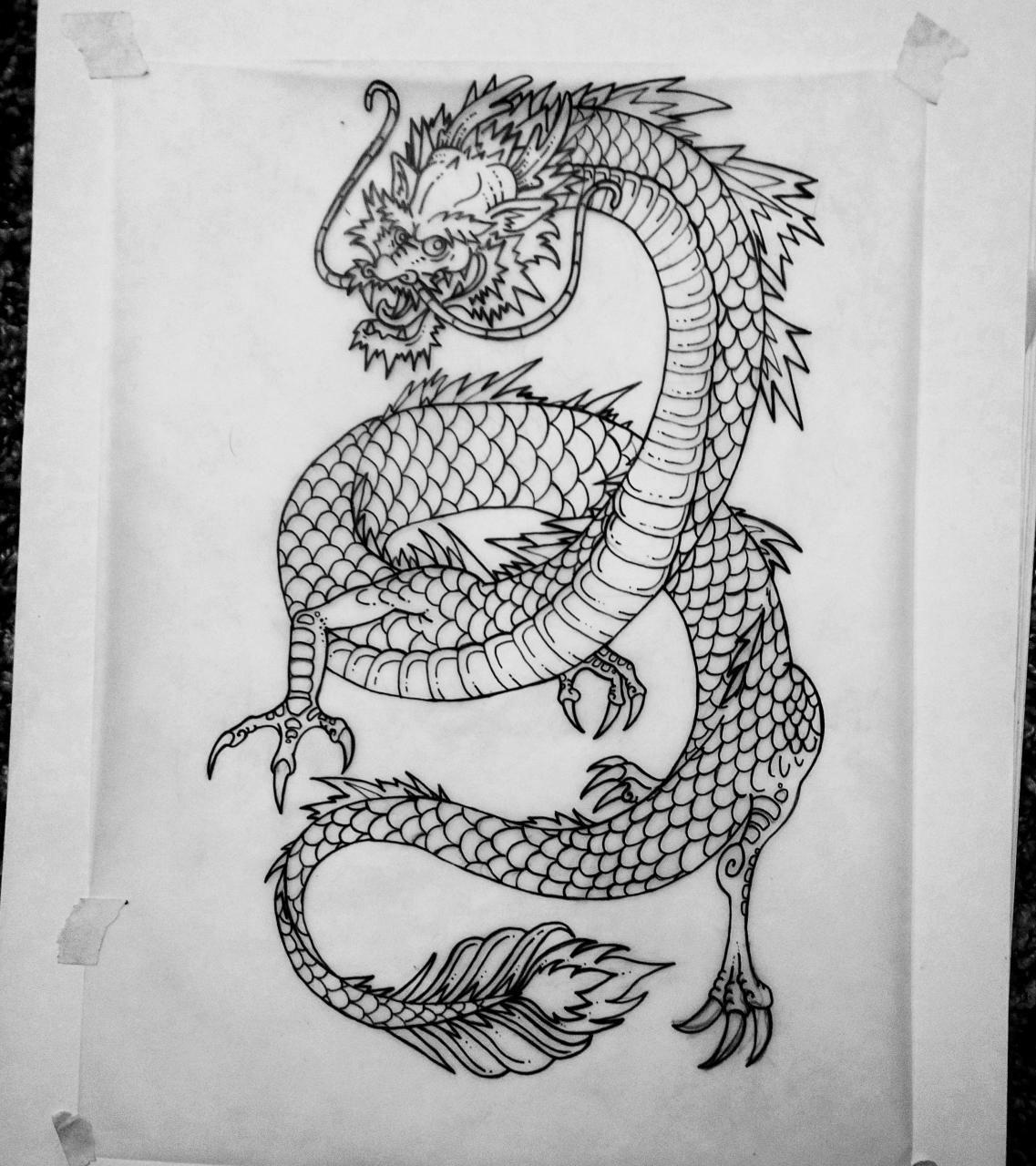 Aspiring tattoo artist. Building my portfolio. Any criticism welcome.
