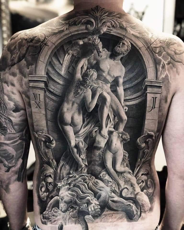 Back Ink by mr. T. Stucklife