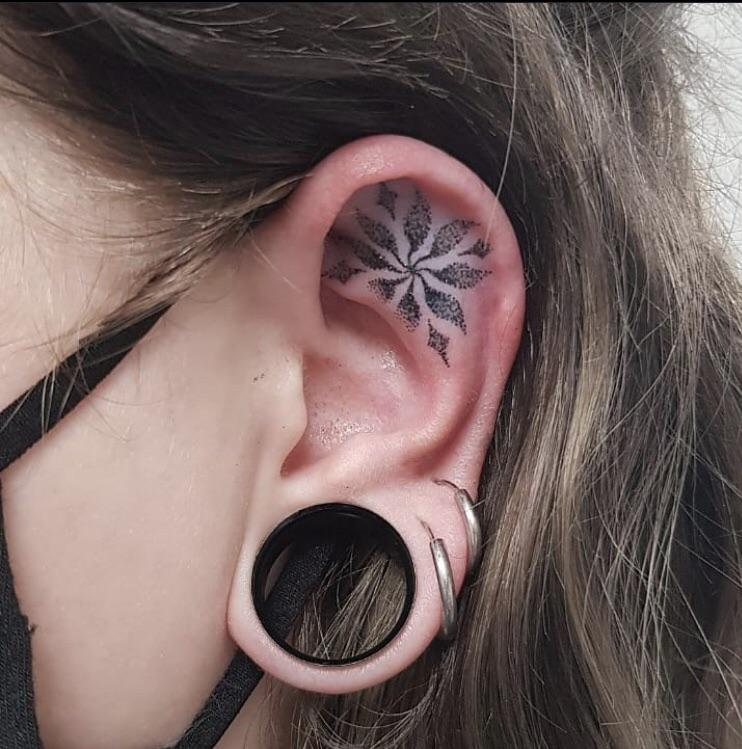 Saw a few ear tattoos done here recently and thought I'd share mine from a few months back! Done by Birk at Holier Than Thou, Manchester.