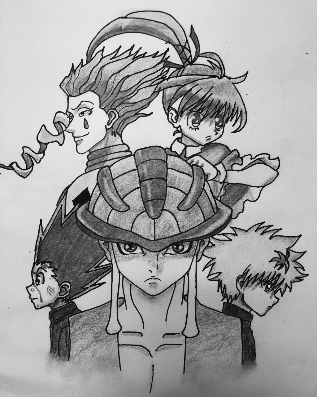 I recently did this Commission for a huge hunterxhunter fan