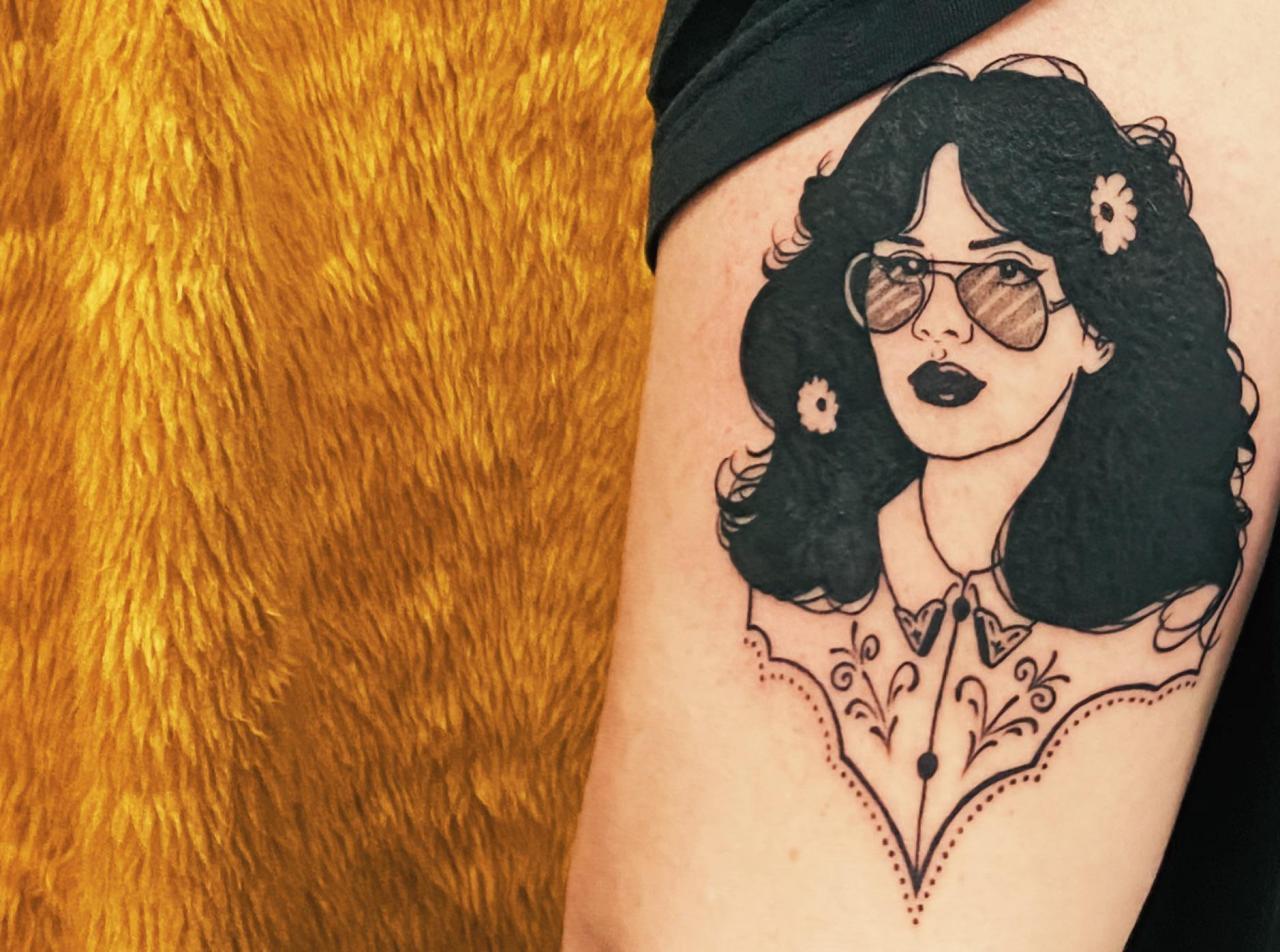 Arm tattoo by Zhana Olivia at Little Art Tattoo in Sydney, Australia