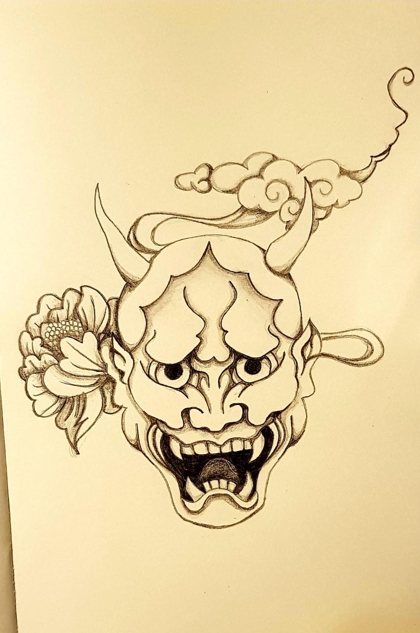 Onimask sketch