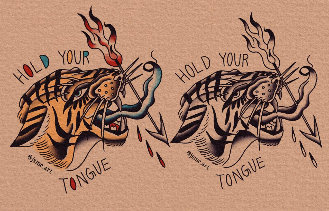Super fun Arms Akimbo lyric inspired commission! Client gave me some lyrics and asked me to come up with a design.