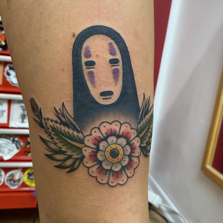 No Face done by Luka at Do Kosti Tattoo, Rijeka