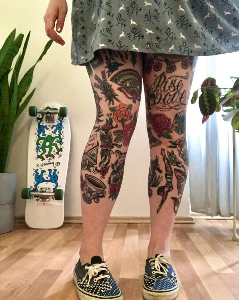 Leg progress – everything healed and done by Vojta Balej in Prague, CZ